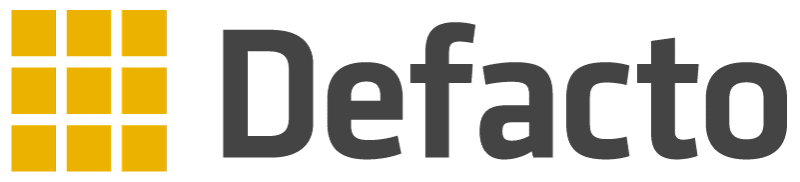 Defacto Logo Software, Data & Analytics